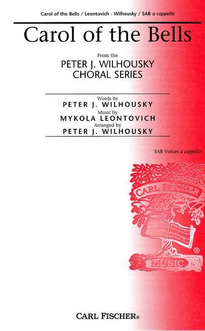 Mykola D. Leontovich: Carol Of The Bells: SAB: Vocal Score