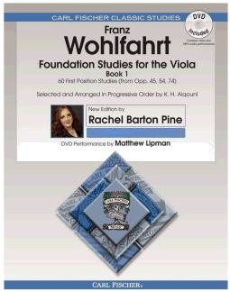 Franz Wohlfahrt: Foundation Studies for the Viola  Book 1: Viola: Instrumental