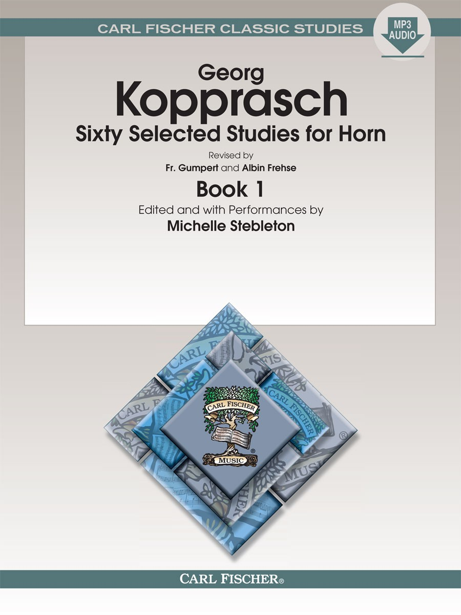 Georg Kopprasch: Sixty Selected Studies for Horn - Book 1: French Horn: