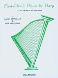 Jane Weidensaul Marcel Grandjany: First Grade Pieces: Harp: Instrumental Tutor