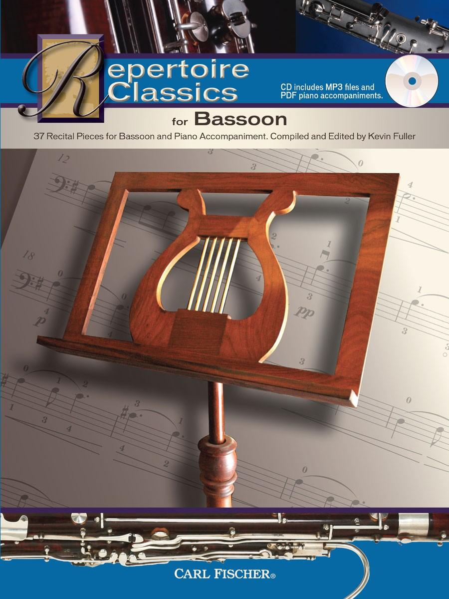 Repertoire Classics for Bassoon: Bassoon: Instrumental Work