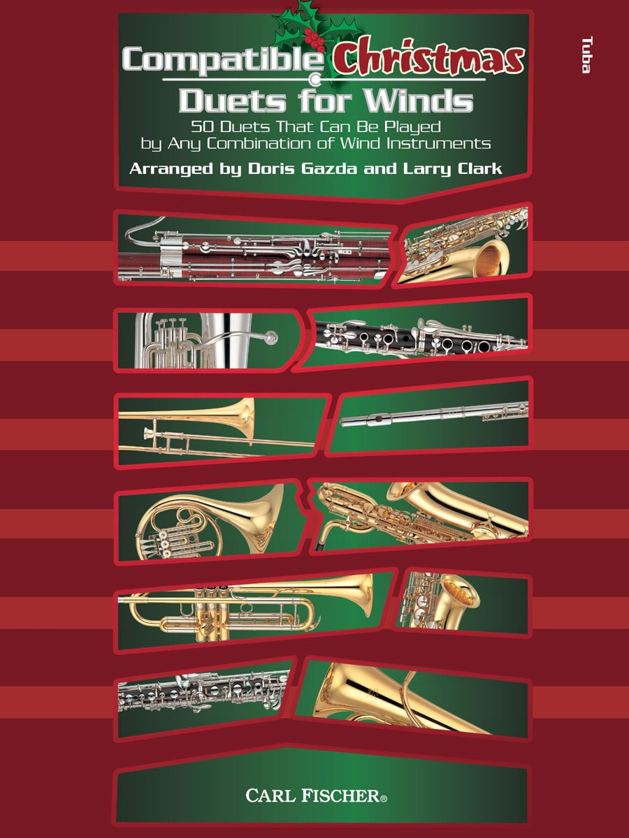 Compatible Christmas Duets for Winds: Tuba: Mixed Songbook