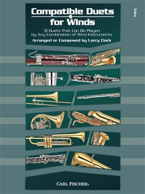 Larry Clark: Compatible Duets for Winds: Tuba: Instrumental Album