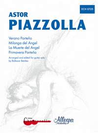 Astor Piazzolla: 4 Pieces: Primavera Porteña  Verano Porteño: Guitar: