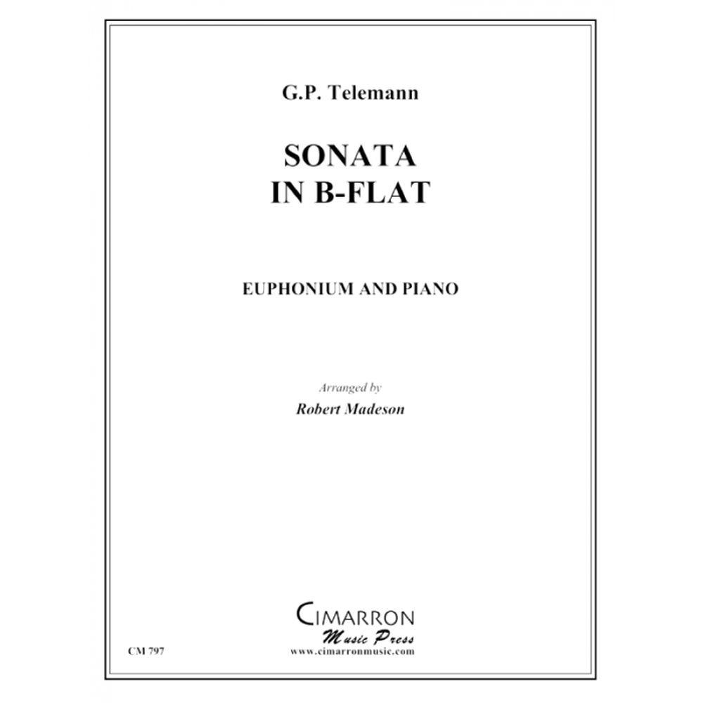 Georg Philipp Telemann: Sonata In Bb: Euphonium: Instrumental Work
