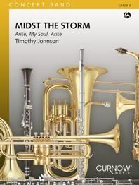 Timothy Johnson: Midst the Storm: Concert Band: Score & Parts