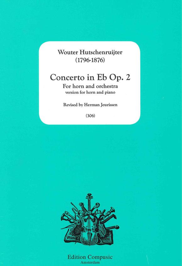 W. Hutschenruijter: Concerto In Es Opus 2: French Horn: Instrumental Work