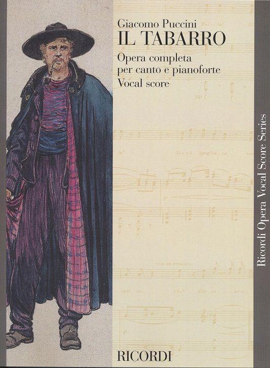 Giacomo Puccini: Il Tabarro: Voice: Vocal Score