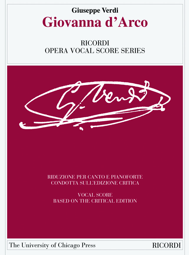 Giuseppe Verdi: Giovanna D'Arco: Voice