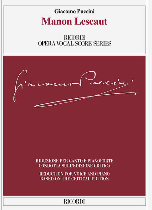 Giacomo Puccini: Manon Lescaut: Voice