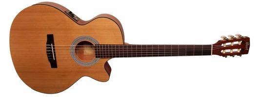 CEC1 W/Bag Open Pore Electro Classical Guitar: Classical Guitar