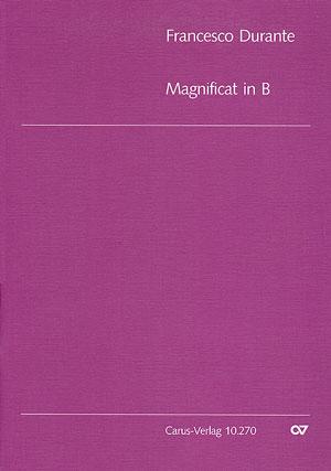 Francesco Durante: Magnificat in B: SATB