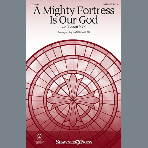 A Mighty Fortress Is Our God - Violin 2: Choir: Part-Digital