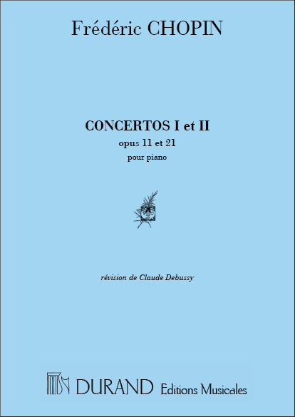 Frédéric Chopin: Concertos N 1 Et N 2 Reduction Pour Piano Seul: Piano