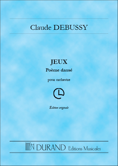 Claude Debussy: Jeux: Orchestra: Study Score