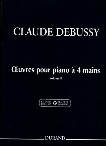 Claude Debussy: Oeuvres Pour Piano A Quatre Mains - Extrait Du: Piano Duet: