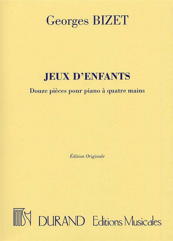 Georges Bizet: Jeux D'enfants: Piano Duet: Instrumental Album