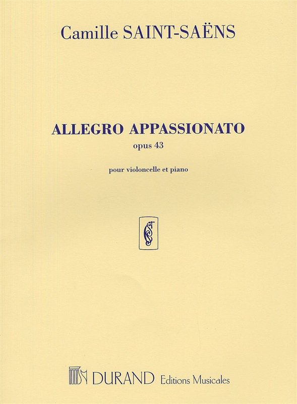 Camille Saint-Saëns: Allegro Appassionato opus 43: Cello: Instrumental Work