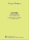 Francis Poulenc: Litanies A La Vierge Noire: SSA: Vocal Score