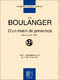 Lili Boulanger: D