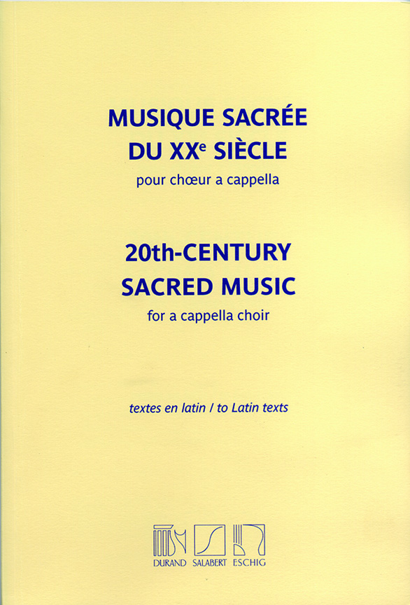 Francis Poulenc: 20th-Century Sacred Music: SATB: Instrumental Work