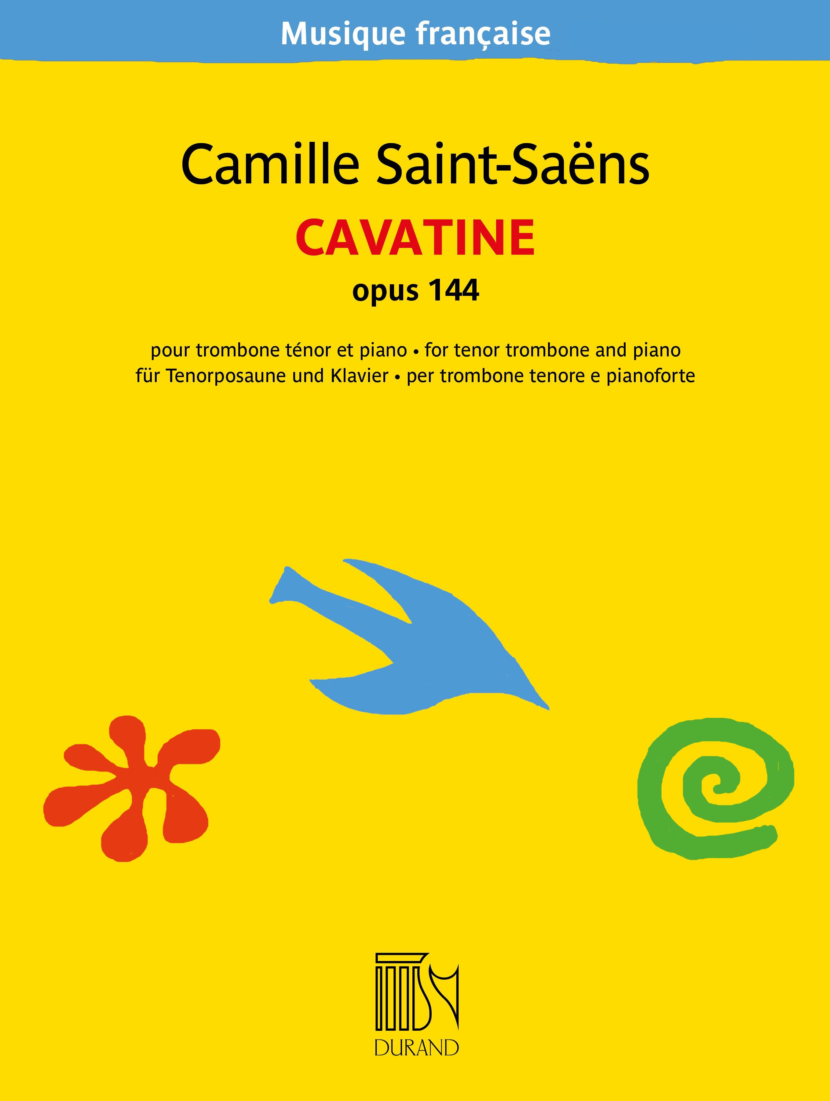 Camille Saint-Saëns: Cavatine opus 144: Trombone: Instrumental Work