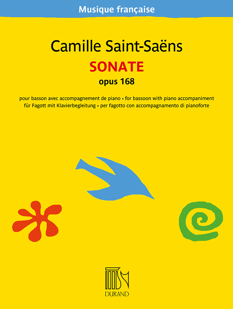 Camille Saint-Saëns: Sonate  opus 168: Bassoon and Accomp.: Instrumental Work