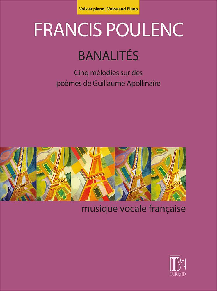Francis Poulenc: Banalités: Vocal and Piano: Vocal Album
