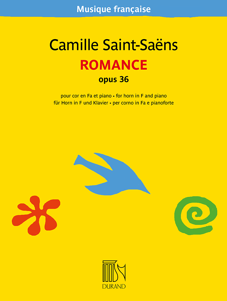 Camille Saint-Saëns: Romance opus 36: French Horn and Accomp.: Instrumental Work