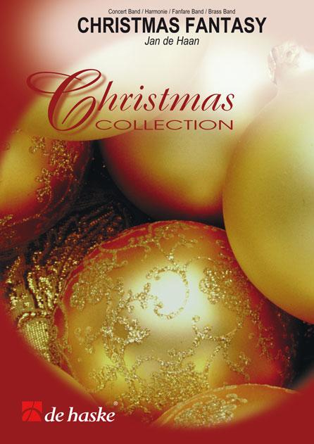 Jan de Haan: Christmas Fantasy: Fanfare Band: Score & Parts