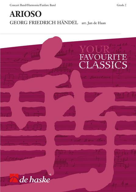 Georg Friedrich Händel: Arioso: Concert Band: Score & Parts