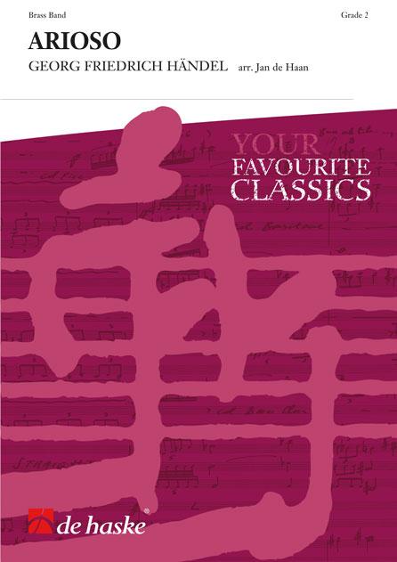 Georg Friedrich Händel: Arioso: Brass Band: Score & Parts