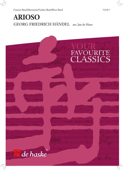 Georg Friedrich Händel: Arioso: Concert Band: Score