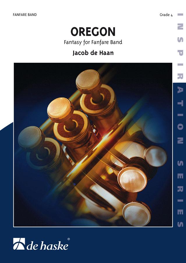 Jacob de Haan: Oregon: Fanfare Band: Score & Parts