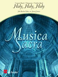 John Bacchus  Dykes: Holy  Holy  Holy: Brass Band: Score & Parts