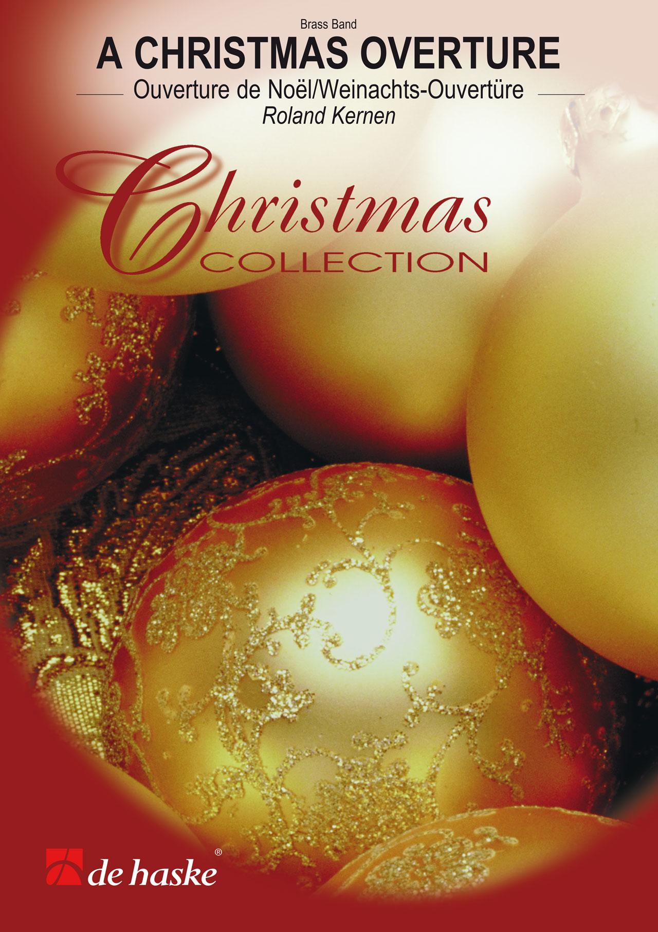Roland Kernen: A Christmas Overture: Brass Band: Score & Parts