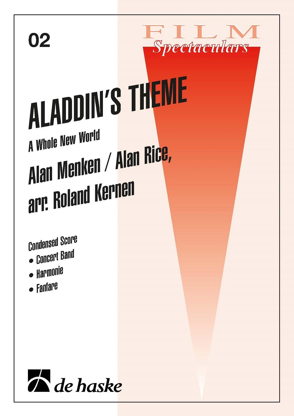 Alan Mencken: Aladdin's Theme: Fanfare Band: Score & Parts