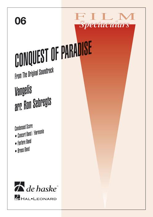 Vangelis: Conquest of Paradise: Concert Band: Score & Parts