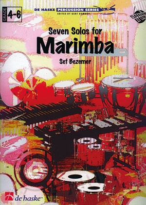 Sef Bezemer: Seven Solos for Marimba: Marimba: Instrumental Work