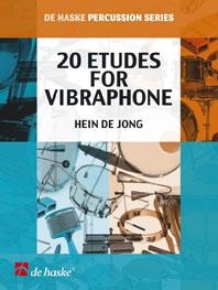 Hein de Jong: 20 Etudes for Vibraphone: Vibraphone: Instrumental Work