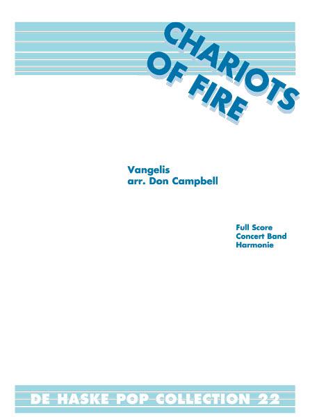 Vangelis: Chariots of Fire: Concert Band: Score & Parts