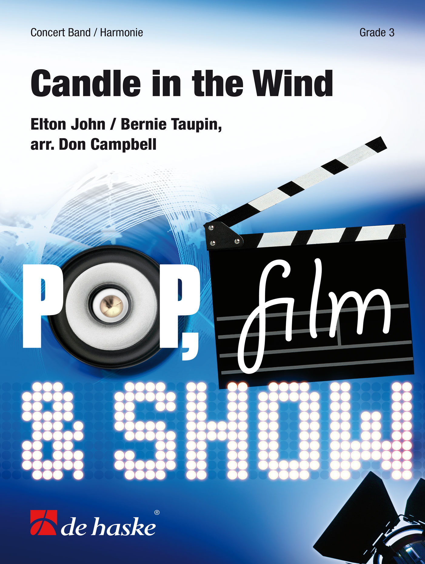 Elton John Bernie Taupin: Candle in the Wind: Concert Band: Score & Parts