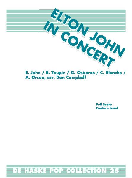 Elton John: Elton John in Concert: Fanfare Band: Score & Parts