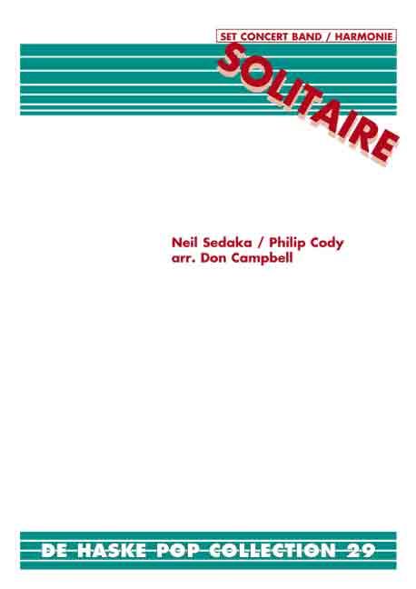 Neil Sedaka: Solitaire: Fanfare Band: Score & Parts