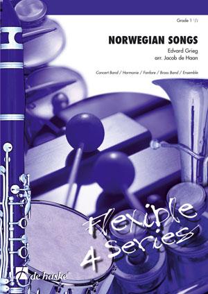 Edvard Grieg: Norwegian Songs: Concert Band: Score