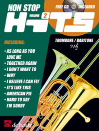 Non Stop Hits Vol. 2: Trombone or Euphonium: Instrumental Collection