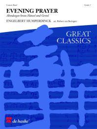 Engelbert Humperdinck: Evening Prayer: Fanfare Band: Score