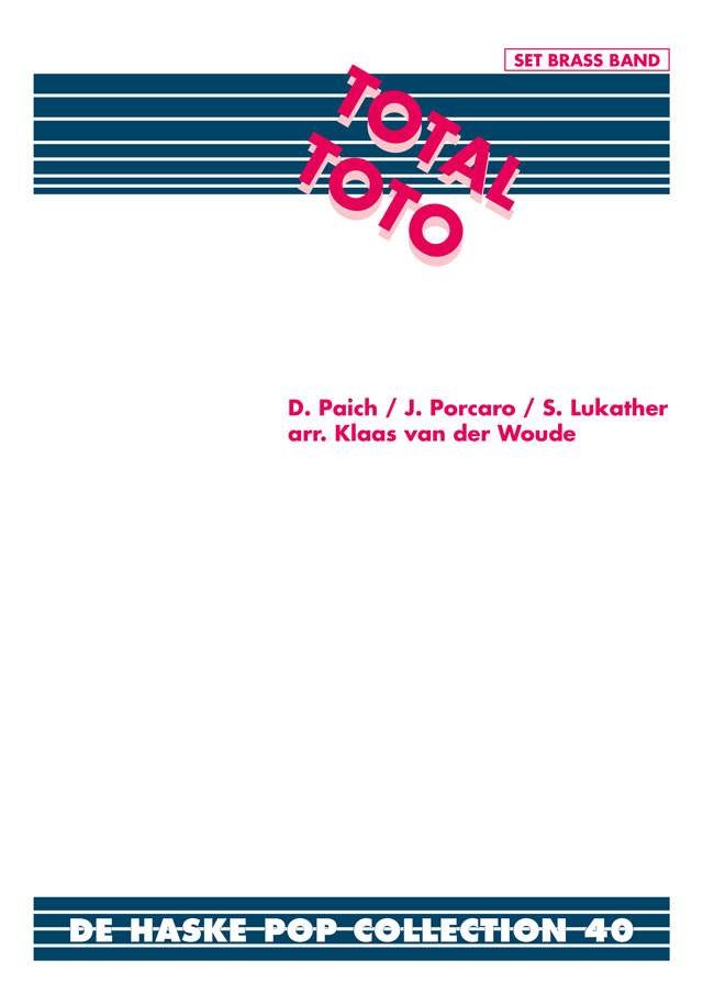 Total Toto: Brass Band: Score & Parts