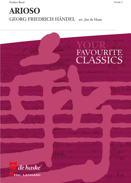Johann Sebastian Bach: Arioso: Fanfare Band: Score & Parts