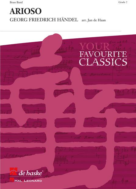 Johann Sebastian Bach: Arioso: Brass Band: Score & Parts